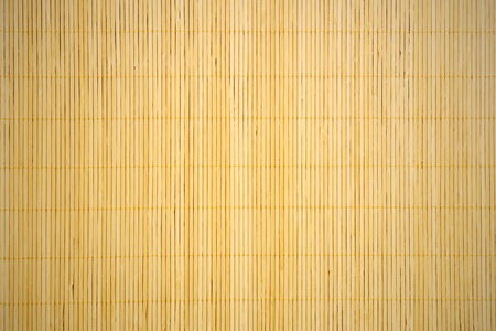textured background with bamboo mat Stock Photo