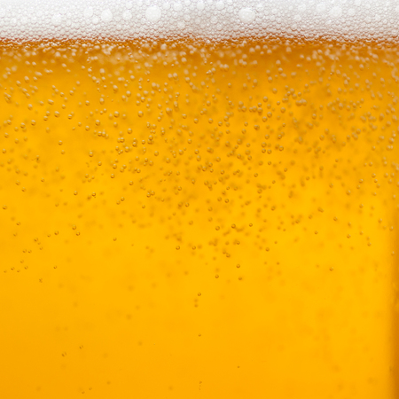 Close up of a glass of beer