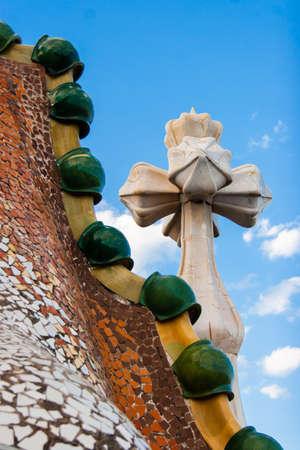 in particular: Particular Casa Batllo roof
