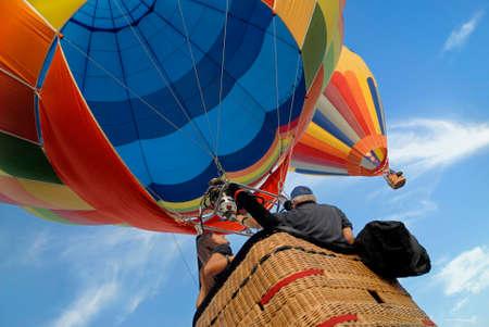 hot air ballon: hot air balloons 1 Stock Photo