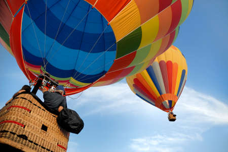 hot air balloon: hot air balloons 2 Stock Photo