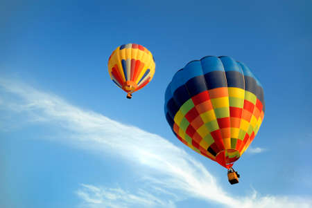 hot air balloons 5 Stock Photo