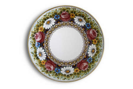 decorated plate Stock Photo - 1736104
