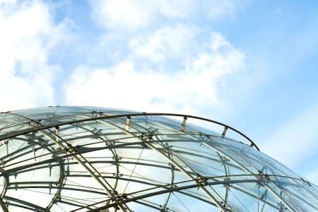 spheric: spheric structure Stock Photo