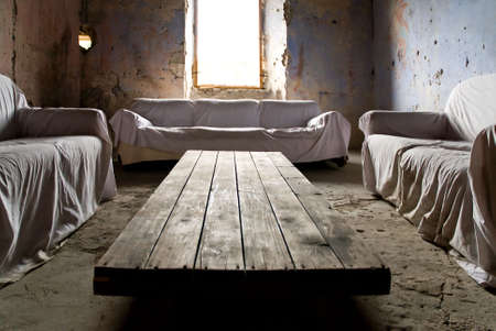 crumbling room Stock Photo - 2406717
