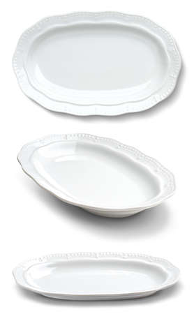 elliptic: elliptic plates over white