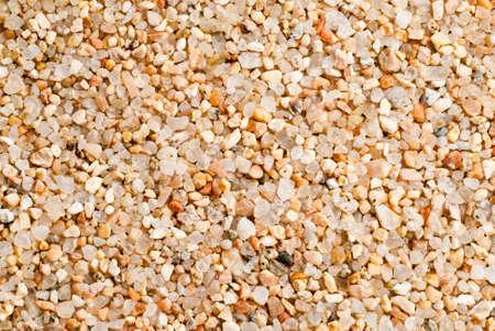 image de la macro de grains de sable jaunes