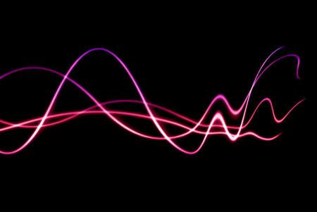 amplification: vagues color�es avec distorsion fading