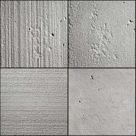 concrete background in four kinds of surface Stock Photo - 9982247