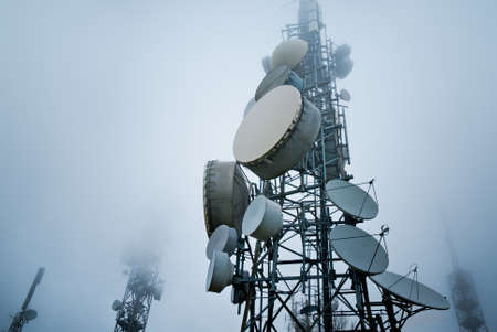 telephonic: telecommunications towers into the clouds