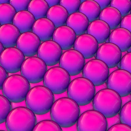 Fluent design 3d sphere gradient fashion color background. 3d render Reklamní fotografie
