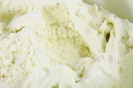 Pistachio ice cream background photo