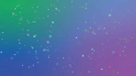 Background particles style trend colorful vector illustration