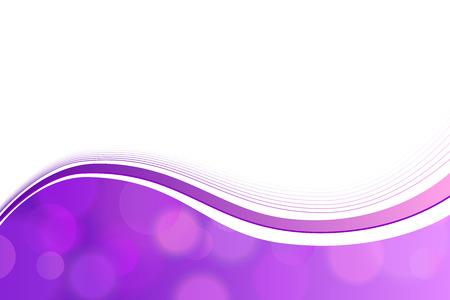 Achtergrond violet cirkel lijnen golf vector