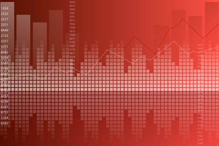red wallpaper: Red graph abstract background vector