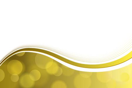 배경 추상 옐로우 골드 서클 라인 벡터 웨이브