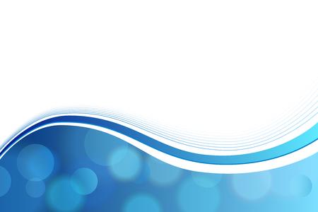 背景抽象的なブルーの円行波数ベクトル