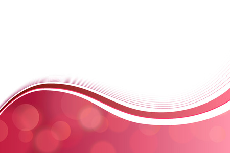 red line: Background abstract pink red circle lines wave vector Illustration