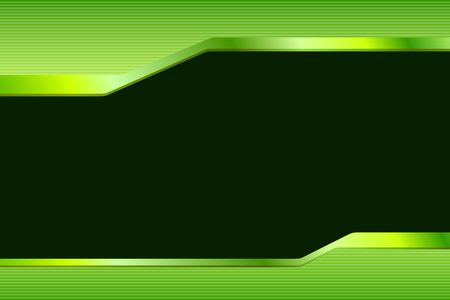 green and black: Abstract background gradient green black lines strips illustration vector