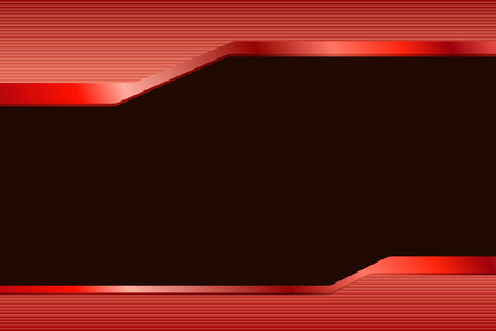 rouge et noir: Abstract background gradient red black lines strips illustration vector