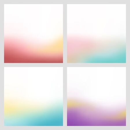 bottom: Abstract bottom color gradient blur background illustration vector