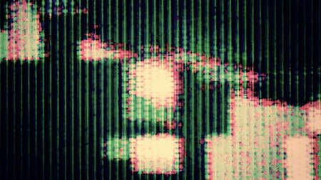 TV Noise 0736  Abstract digital data forms  Stock Photo