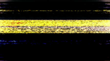roll bar: TV Noise barra antivuelco 0737 Abstract TV