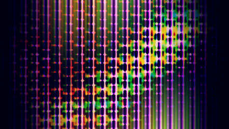 TV Noise 0741  Abstract digital data forms  Stock Photo