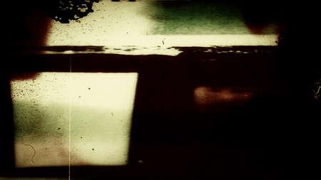 Abstract Film 0131  Abstract film leader frame  Reklamní fotografie
