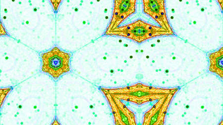 hypnotize: Kaleidoscopic Complex abstract patterns of color