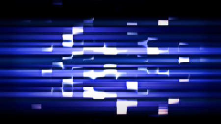 Futuristic technology abstract screen with digital noise and light effects