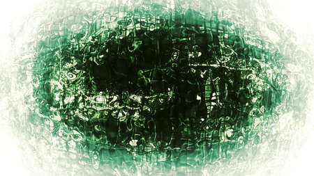 Organic Abstraction - Micro organic abstraction with complex digital patterns. photo