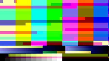 digital signal: Glitch random digital signal malfunction. High resolution illustration 10909 from a series of abstract future tech imagery.
