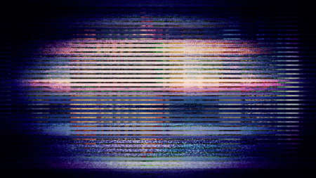Futuristic, video screen display pixels creating an abstract pattern. From a series of abstract future tech imagery. Zdjęcie Seryjne - 67293126