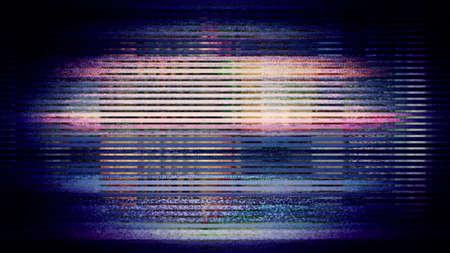 Le Futur, pixels d'affichage de l'écran vidéo en créant un motif abstrait. A partir d'une série d'abstract future imagerie tech. Banque d'images - 67293126