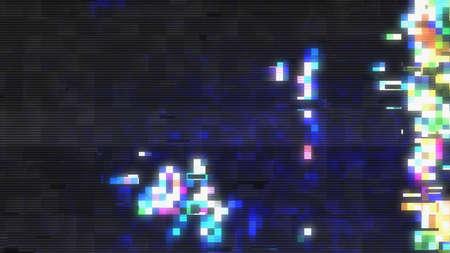 Data Glitch Streaming Video Break Down 11018