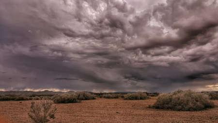 California Desert Storm