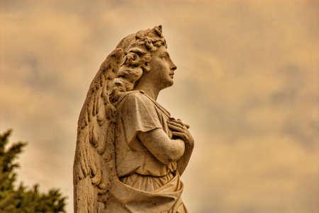 reverent: A Beautiful Stone Angel