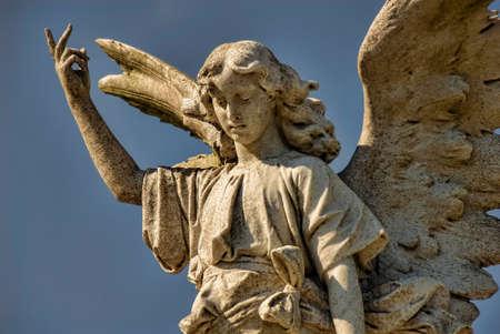 reverent: Vibrant stone angel