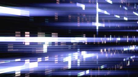Data glitch random digital signal malfunction. High resolution illustration 11101 from a series of abstract futuristic technology.