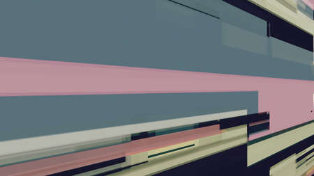 Data glitch random digital signal malfunction. High resolution illustration 11104 from a series of abstract futuristic technology.