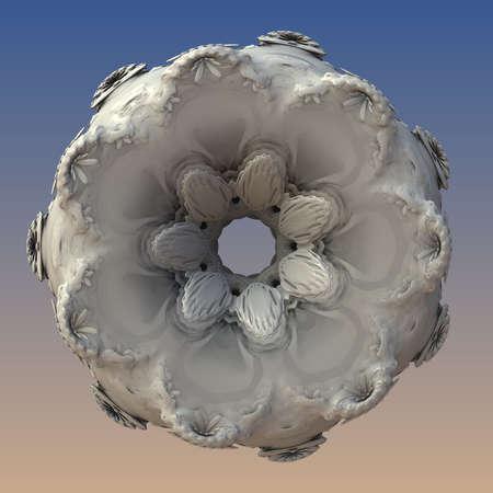 Abstract fractal digital art design 11139