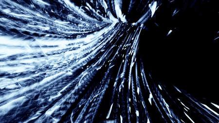 Splintered Light Abstraction 10887