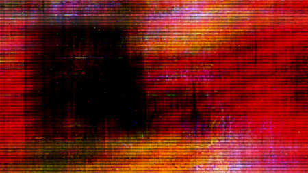 Futuristic, video screen display pixels 10533 from a series of abstract future tech imagery.