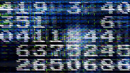 Futuristic technology screen 10522 from a series of abstract future tech imagery. Stok Fotoğraf