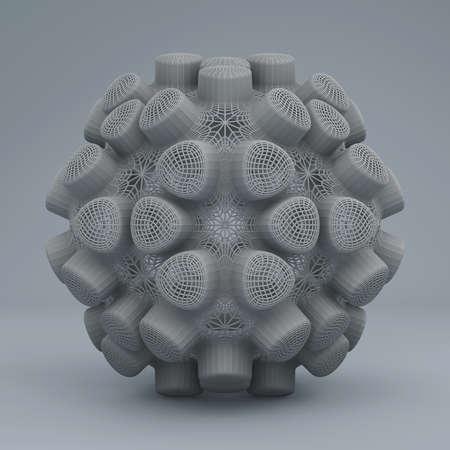Abstract fractal digital art design 11142