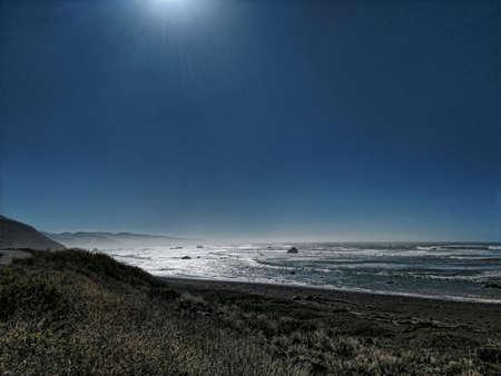 The Romote Lost Coast Stok Fotoğraf