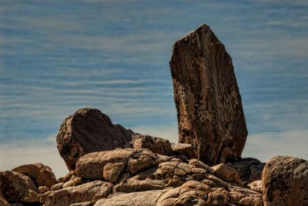 Mojave Desert Boulders Zdjęcie Seryjne - 118385760