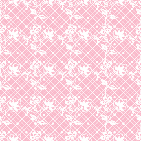 Seamless lace floral pattern. Infinitely wallpaper, decoration for your design, lingerie and jewelry. Your invitation cards, wallpaper, and more. Vettoriali