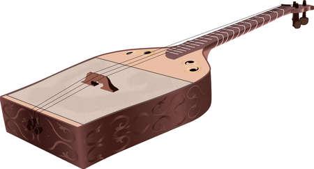 diseño de ilustración vectorial de sherter de madera dibujado a mano